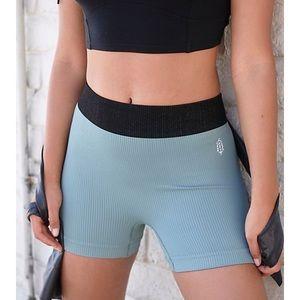 New Free People Seamless Prajna Shorts Size: M/L